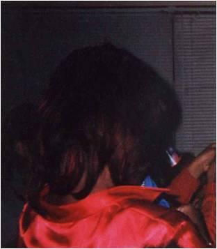 Michelle with reddish hair