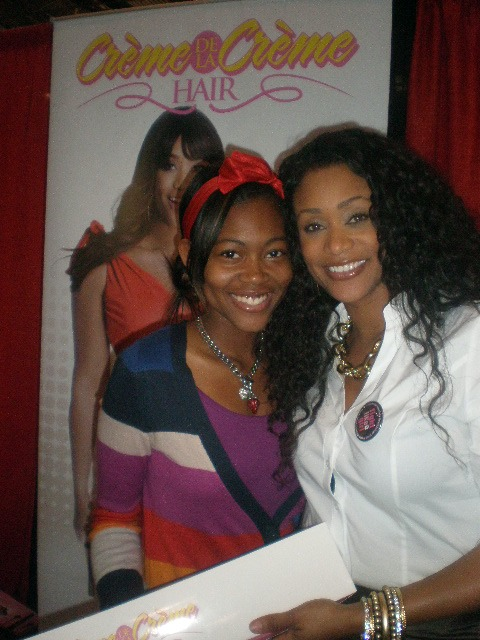 Tami Roman And Curls By