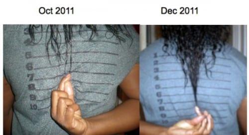 growing black hair