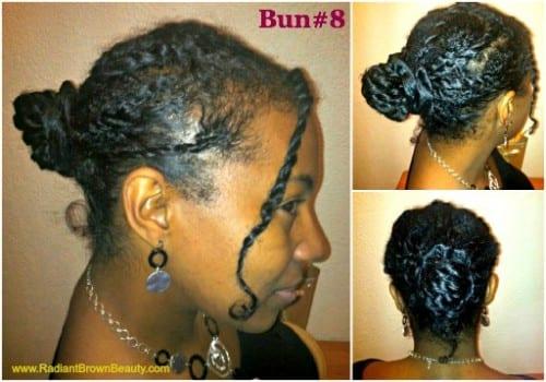twists in a bun