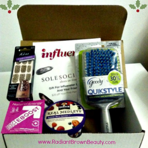 influenster holiday voxbox