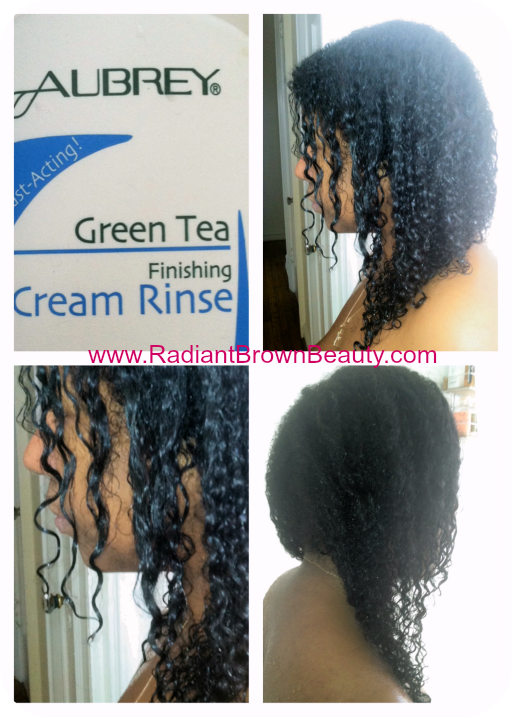 aubrey organics green tea finishing cream rinse