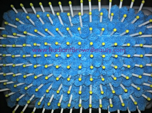 Goody microfiber bristles