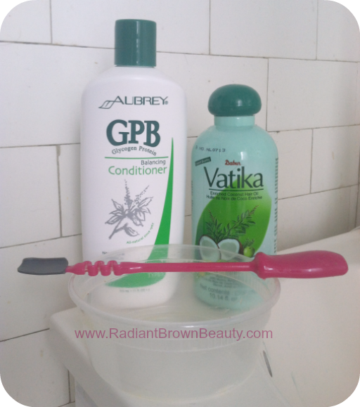 pre-poo with GPB conditioner