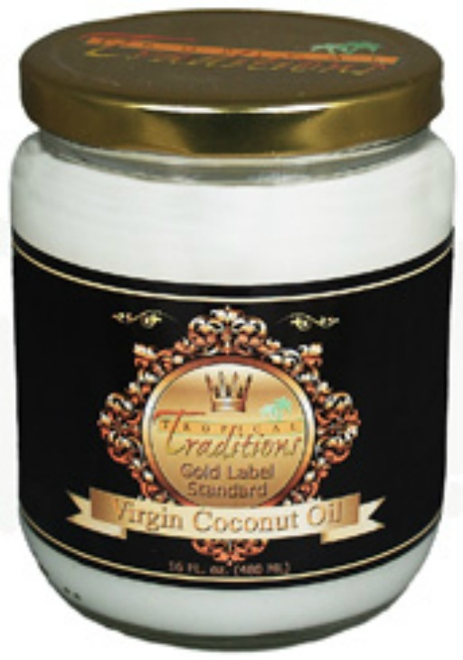 gold label coconut oil by tropical traditions