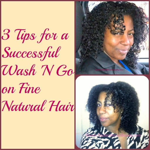 wash n go tips