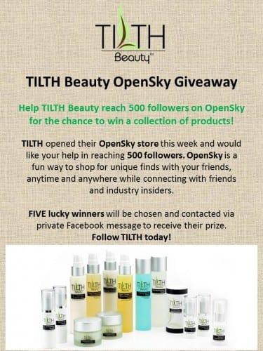 TILTH Beauty Giveaway