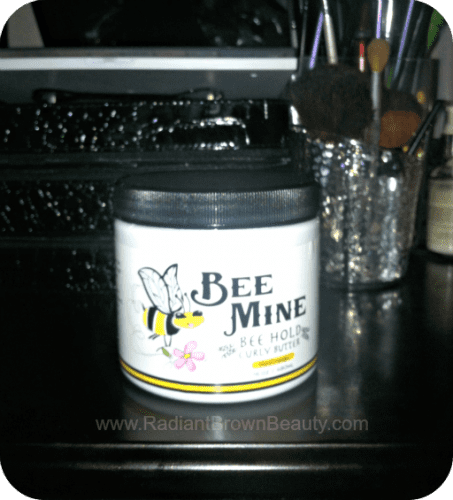 bee mine holding butter