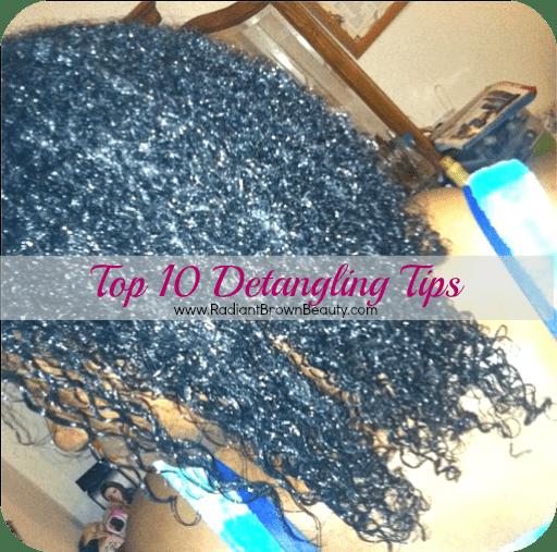 detangling tips