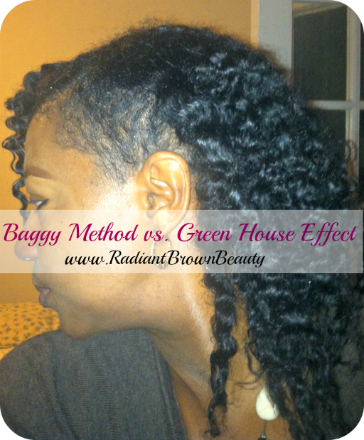 Greenhouse Baggy Method Natural Hair