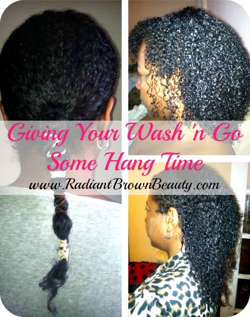 banding a wash and go