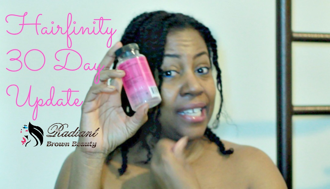 30 Day Hairfinity Update! | Fine Natural Hair and Faith