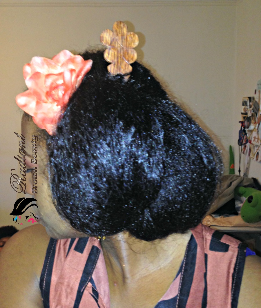 hair stick hairstyle