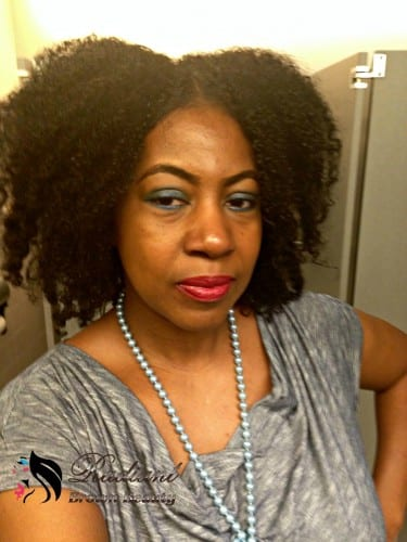 wash and go on natural hair