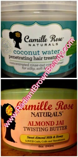 camille rose naturals hair products