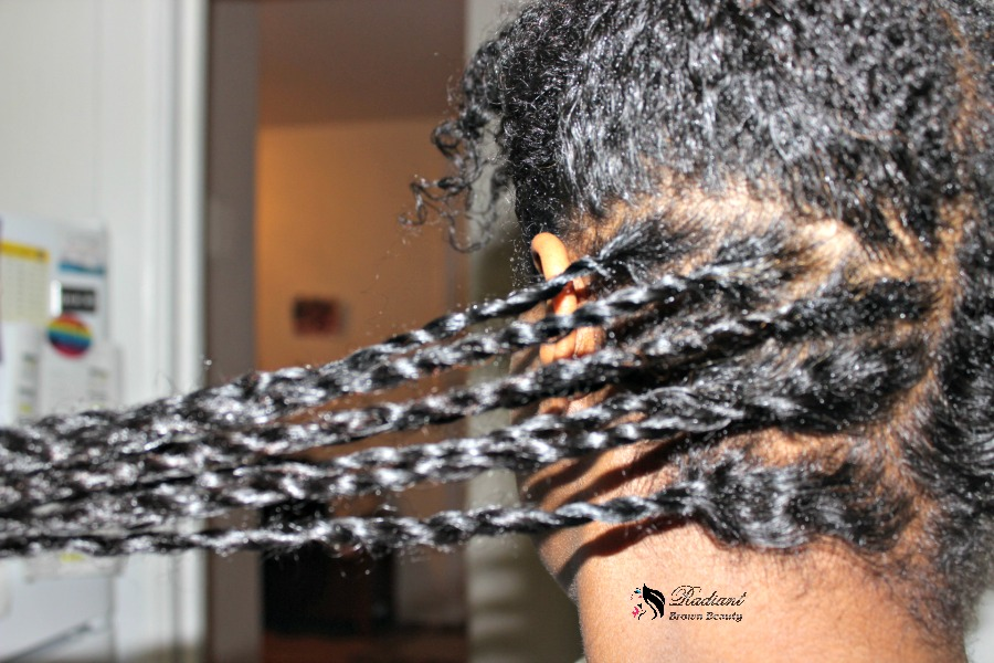 small twists on fine hair