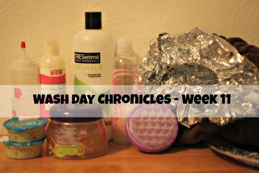 wash day fine hair products