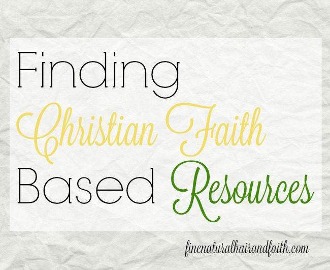 christian faith based resources