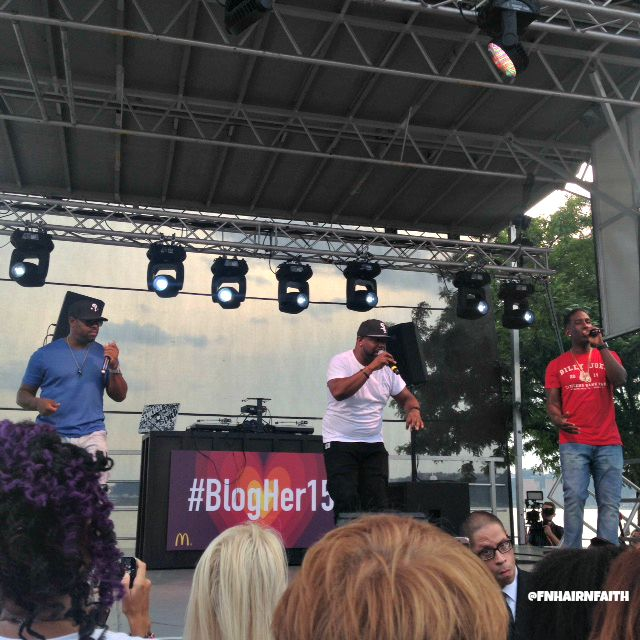 boyz to men at blogher15