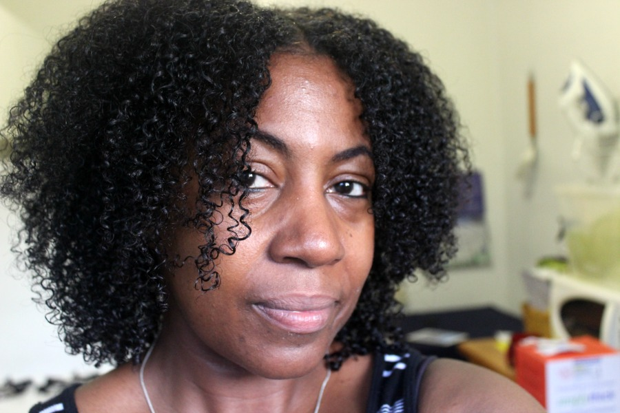 wash and go on fine hair