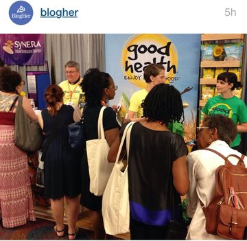 blogher15 good health display
