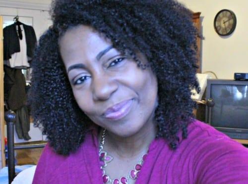fine natural hair blogger