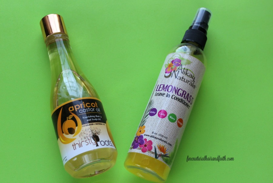 moisturize and seal natural hair