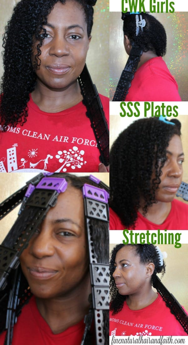 stretching natural hair without heat
