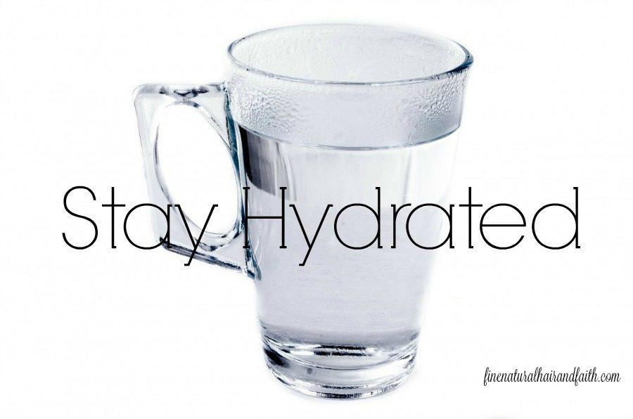 hydration for healthy hair