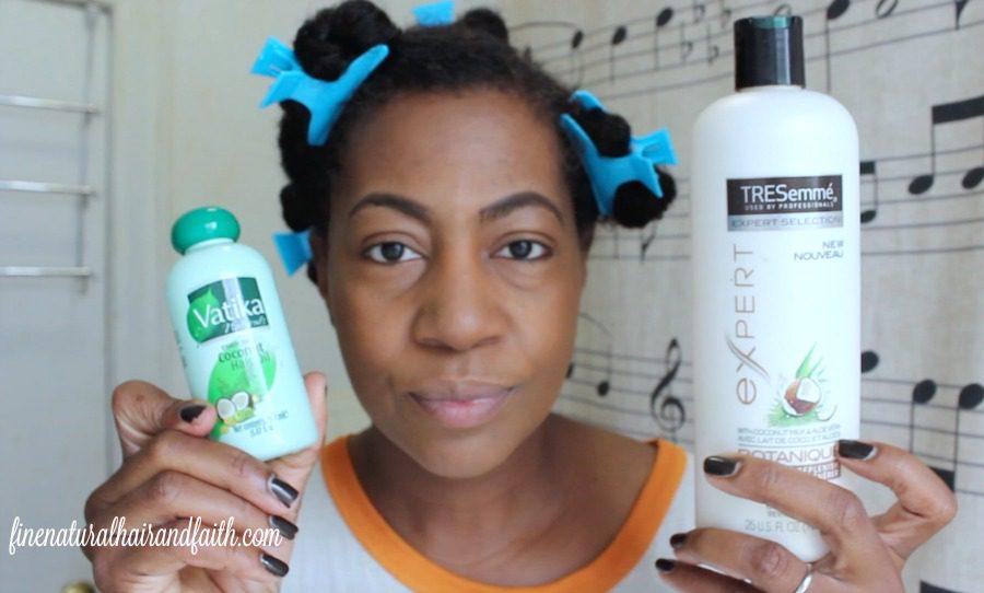 pre-poo regimen for fine natural hair