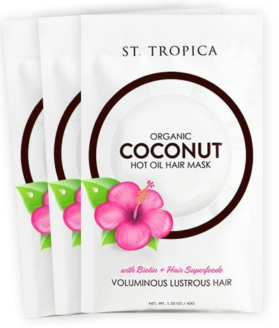 coconut hair mask