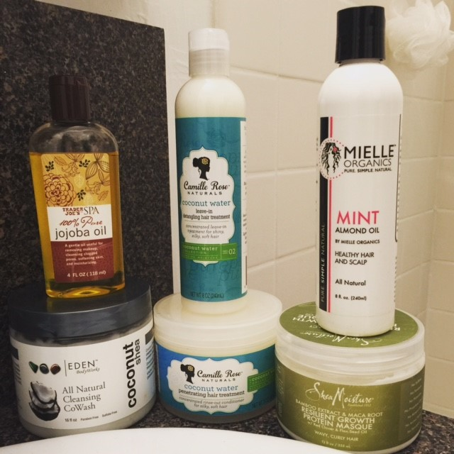 minimalist hair regimen
