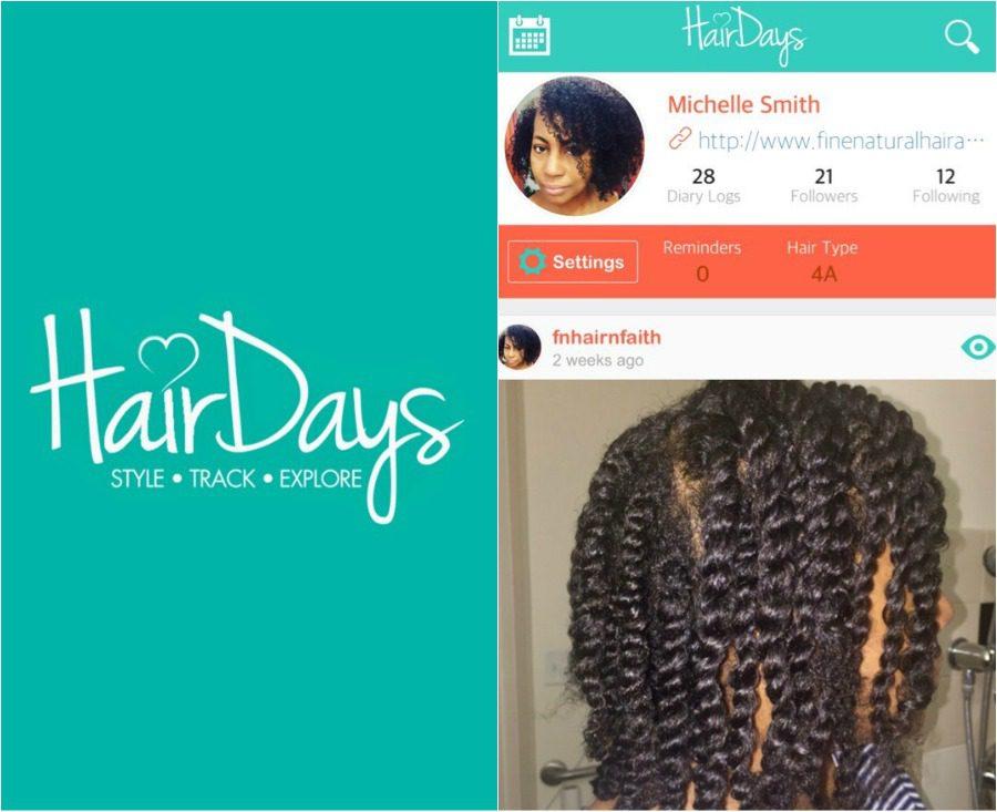 Hair Days app