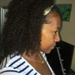 ayurvedic hair care on fine natural hair