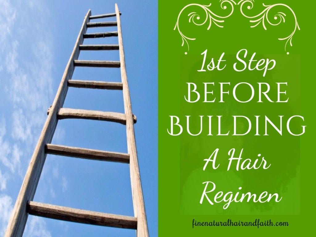 building a hair regimen