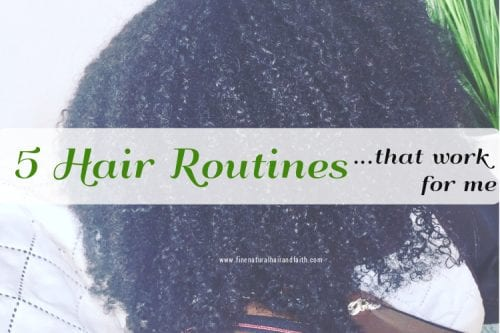 curly hair routines that work