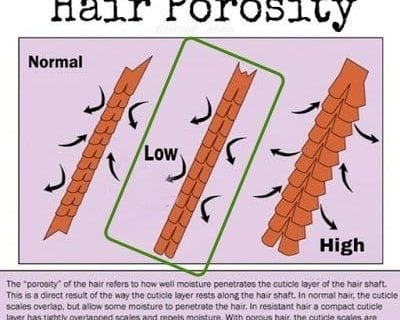 moisturizing low porosity hair