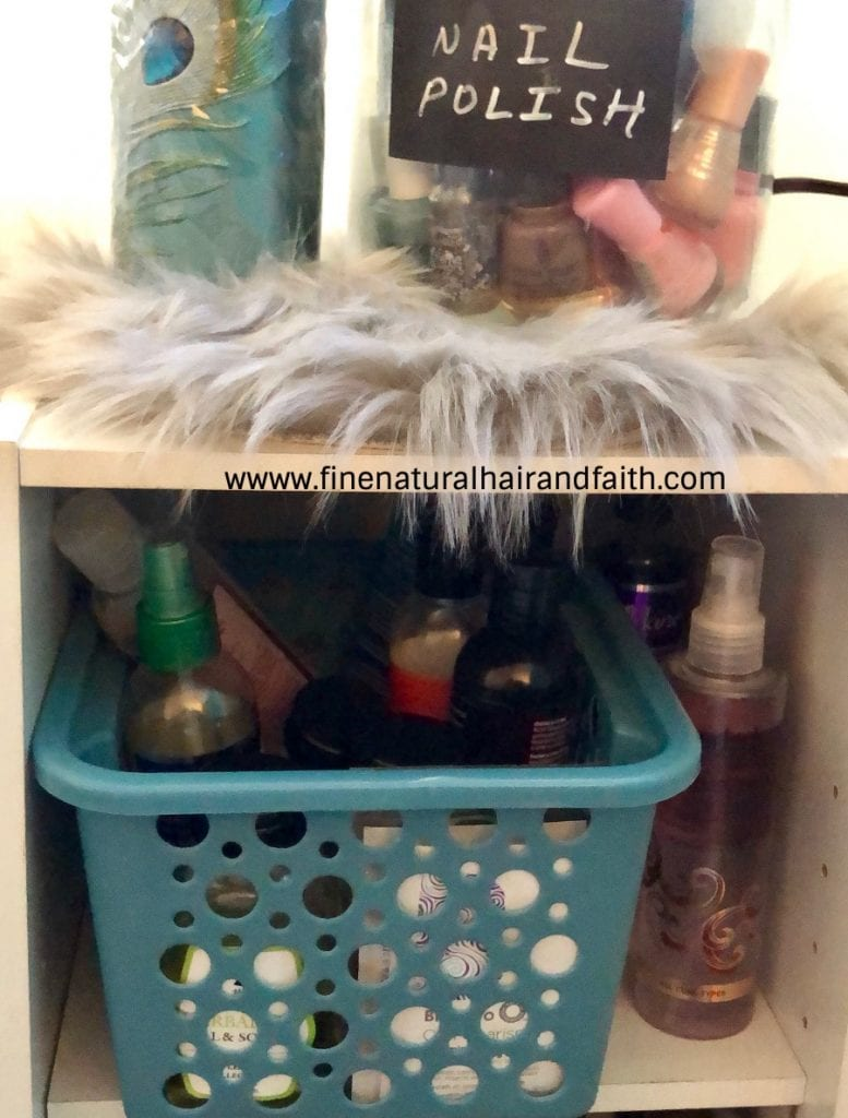 organizing hair products