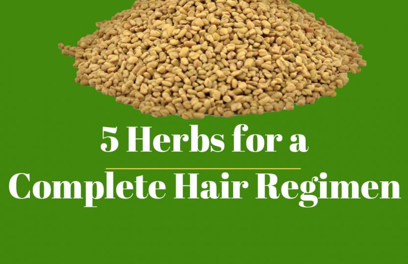 herbs for a complete herbal hair regimen